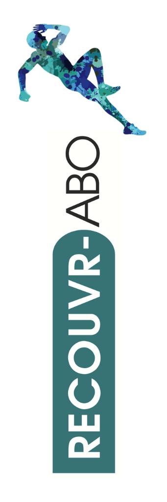 Logo du service de recouvrement créé par Assur-Abo. Recouvr-Abo, service de recouvrement appartenant à Assur-Abo. L'assurance abonnement contre les interruptions d'abonnement de sport et musique.